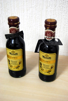3 leaf Balsamic vinegar - 4,50 euros