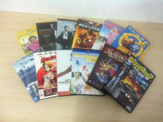Dvd's - 2-4 euros
